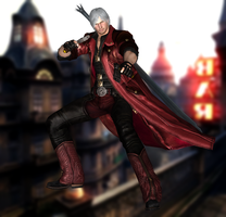 Dante(Default) Devil May Cry 4 Special Edition by XKammyX