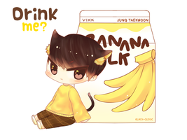 Banana Milk by Black-Quose