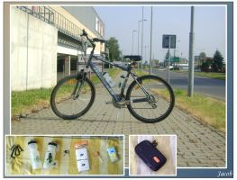 bicycle gear - latest upgrades by JacobMainland