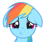 Rainbow Dash - Cry by Ocarina0fTimelord