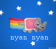 Nyan Nyan Nyan Nyan Cat by Tiffyx