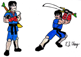 Billy Lee (Double Dragon) by StealthNinja5