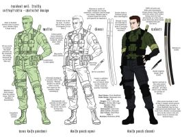 Corrupt!Chris - Character Study by Resident-evil-STARS