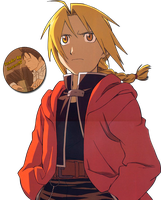 Render Edward Elric by kuroro97