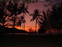 Sunset Sabah Malaysia by scottagray