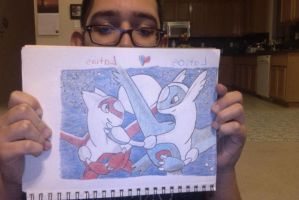 Latios ans Latias by Chrismilesprower