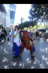Yuna and Ifrit at Anime Expo 2014 by SoraSkater