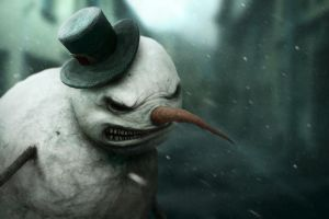 Snowman by Gloom82