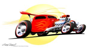 Hot Wheels Bobber Truck by GaryCampesi
