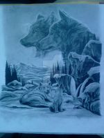 Where the wolves sing by Dessi-Goes-Gothic