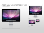 Apple LED 24' Display Icon by intelnode
