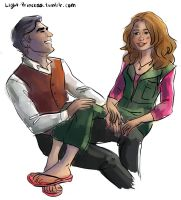 Firefly: Simon and Kaylee by abibuu