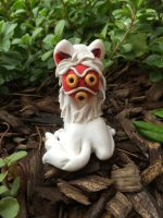 Princess Mononoke Wolf Mask by AleciaEdwards