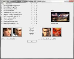 Dead or Alive 5 Tag Team League Tournament by PhoeChan