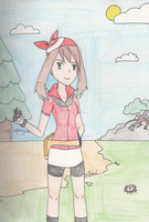 Pokemon - May on the Road by SwiftNinja91