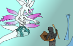 against the immortal dragon Seath the Scaleless by TheAgentMyers