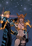 Starlord and Angela (VIDEO) by Atlas0