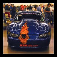 Mustang of fire by sandwedge