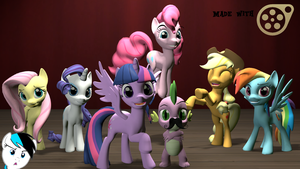 Mane 6 by TaylorHicks