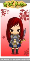 Erza by Chocolatesundae123