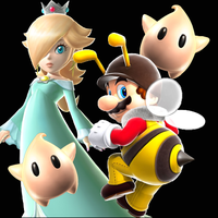 Mario and Rosalina by AkaCirce