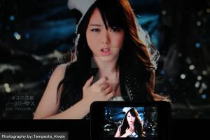 Miichan on my laptop and phone by tempestaalvein