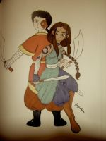 Zutara Week 2010 AU by fayedove