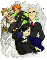 artemis fowl and co by Indiewikkan