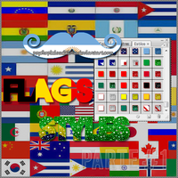 Flags Styles x34 Parte #1 by PsychoPixieEditions