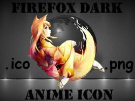 Firefox anime icon by grny