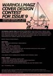 COVER DESIGN CONTEST ISSUE 9 by WARHOLLMAGZ
