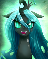 queen chrysalis by kyodashiro