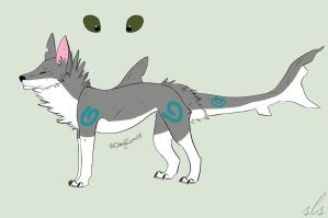 Shark Dog Adopt -SOLD- by Airazone