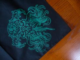 Tentacle monster bandanna by KING1384