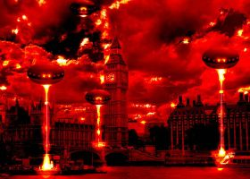 London Alien Invasion by PsdDude