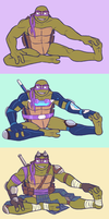 TMTN - Donatello by MidoriEyes