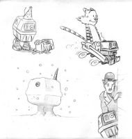 The Adventures of Gonk the Power Droid 22 by Gorpo