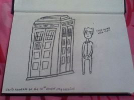 Chris Kendall/Crabstickz as the 12th Doctor. by Gerards21Guns