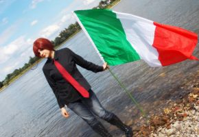 APH Hetalia: South Italy- Romano by YaoiYuu