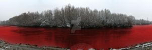 Bloody river by Sadelikfish