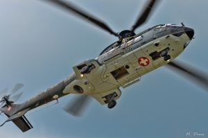 - Swiss Airforce Super Puma - by NormalDiffusion