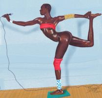 Grace Jones by Pintopix