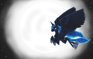 Luna's Flight by Sauny