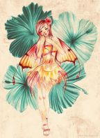Hibiscus Fairy by Akino-K