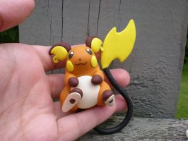 AT: Raichu- by Foureyedalien