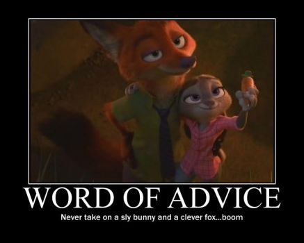 Nick and Judy motivational by Redmange