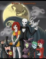 This Is Halloween: Welcome to Halloween Town by GrimzyRaider