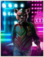 Jacket - Hotline Miami. by gerky-art