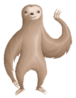 Sloth Pixel by Izabeth