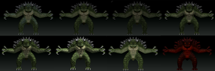 Carnodemon Variations by DinoHunter2